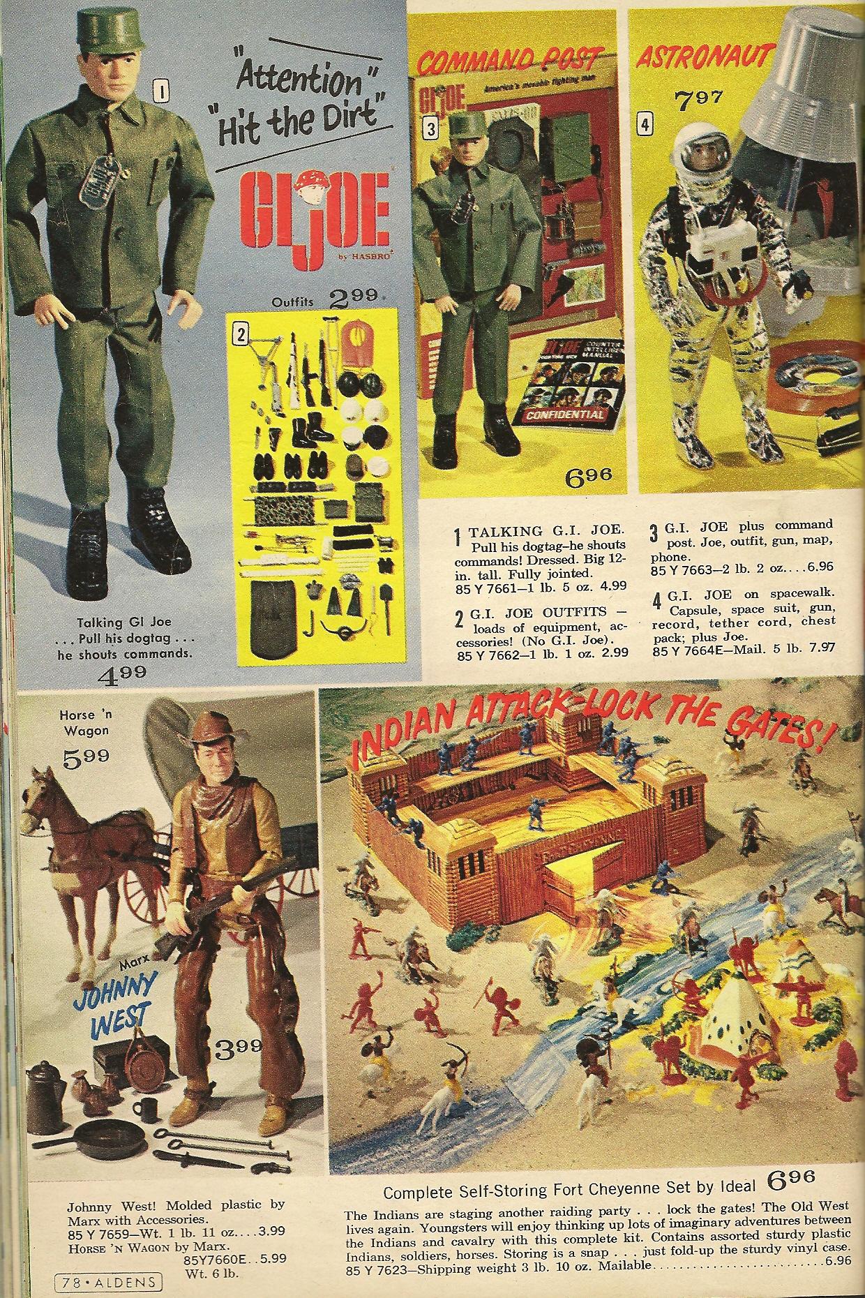 1960 Christmas Toys : Vintage christmas catalogs s