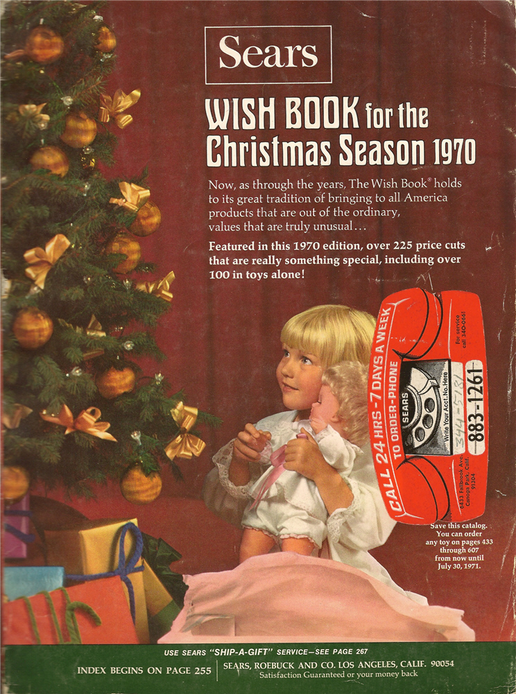 sears christmas catalogue 1959